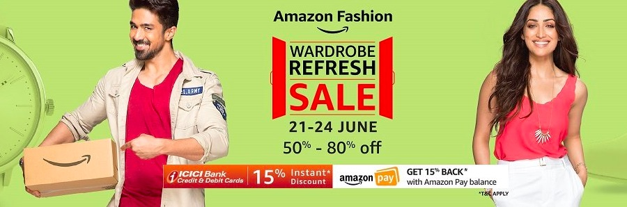 Amazon fashion wardrobe sale