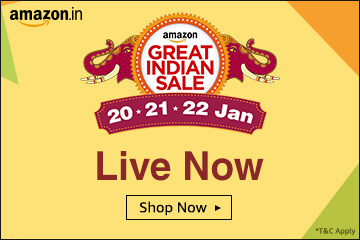 Amazon Great Indian Sale:Mobile & Fashion Offers[20th-22nd Jan 2017]
