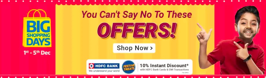 Flipkart Big shopping Days 2019