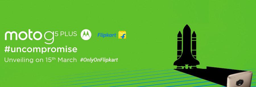Flipkart Moto g5 Plus