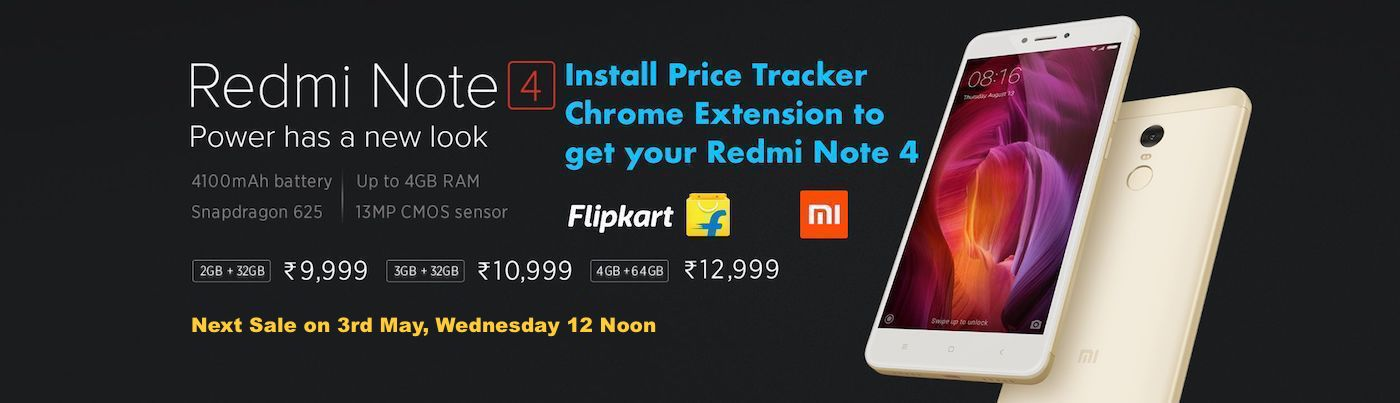 redmi note 4 flipkart