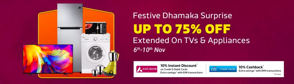Flipkart dhanteras offers. Amazon Pre diwali sale. IndiaDesire on Telegram e4e6b910a055a