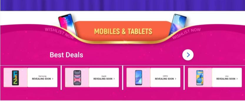 Big billion days mobiles offer