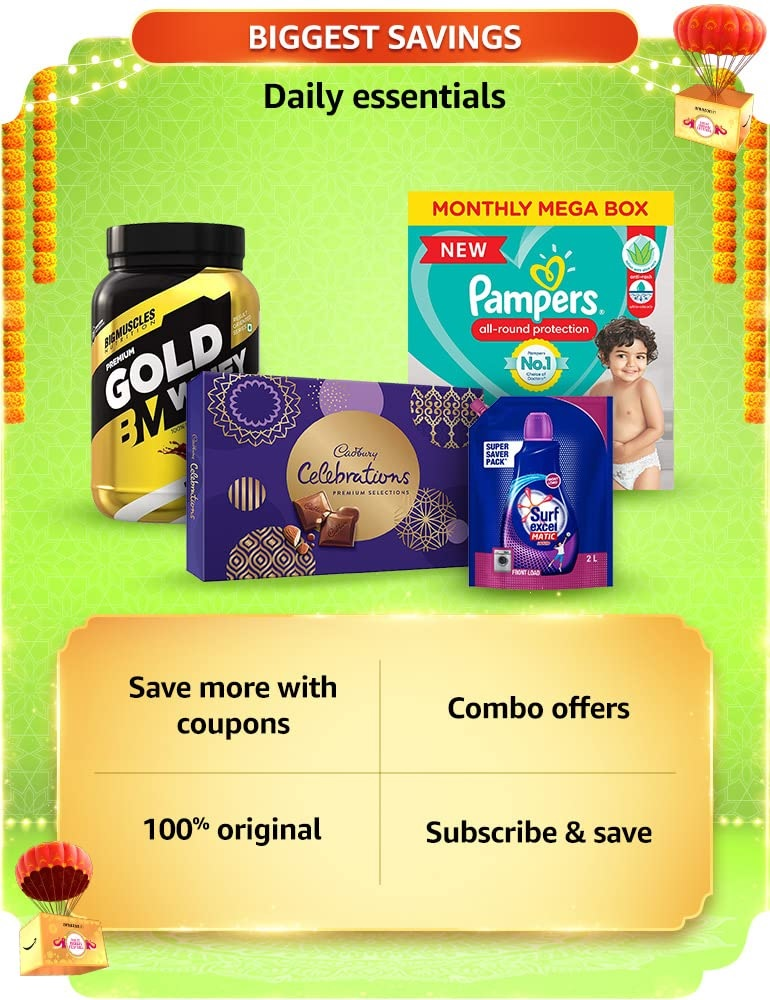 Amazon Great Indian Sale Daily Essenstial