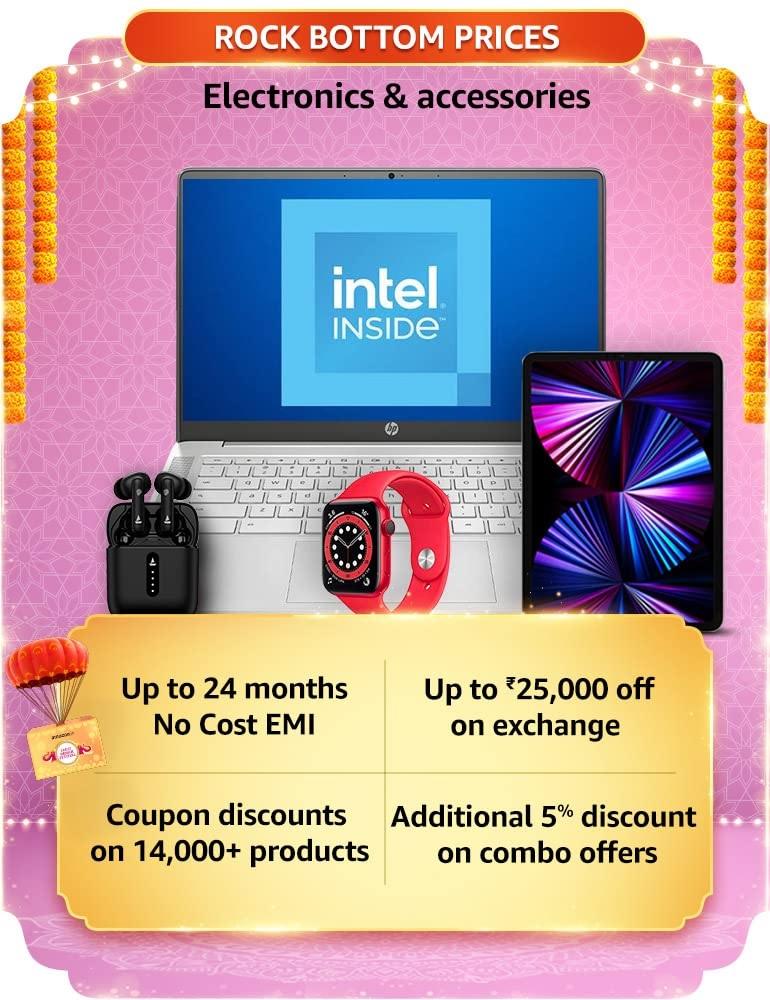 Amazon Great Indian Sale Laptops & Electronics