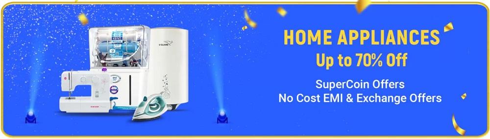Flipkart BBD Offer On Home Appliances