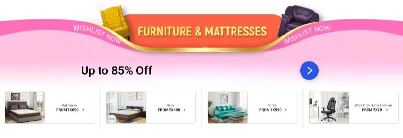 Furniture & Mattress Offer