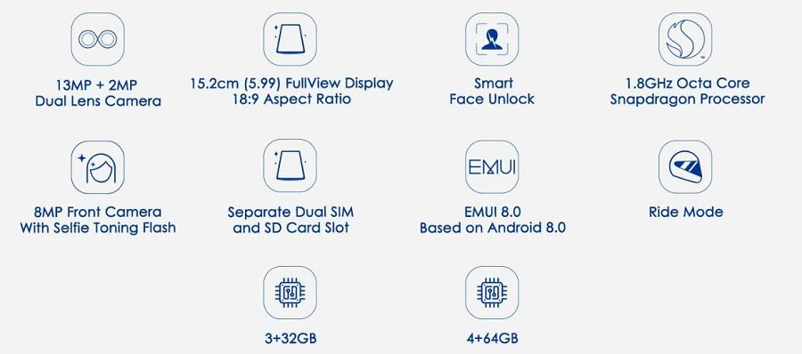 honor 7c specification