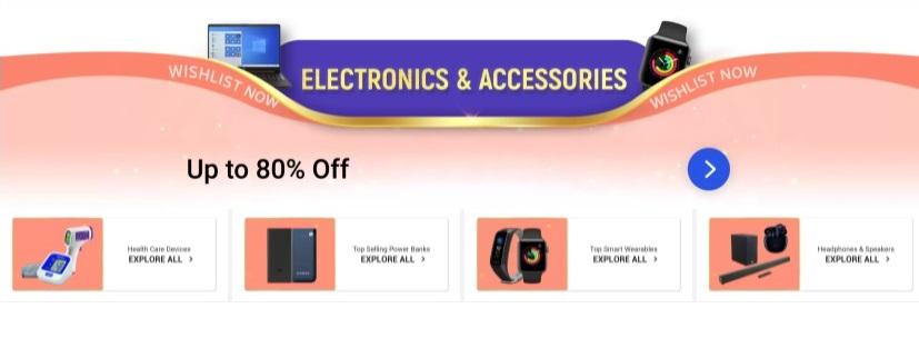 Laptops & Electronics Offer