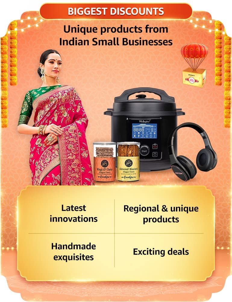 Amazon Great Indian Sale Small Businesses