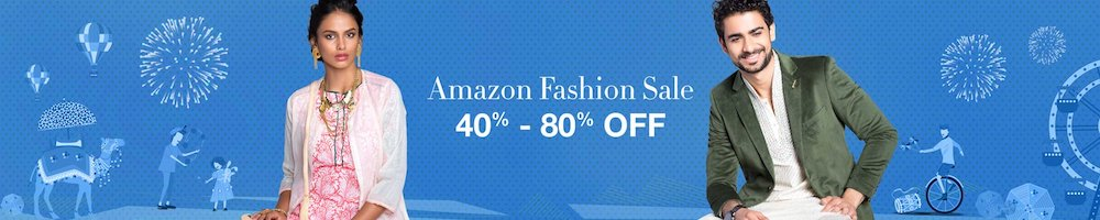 amazon great indian festival fashion sale 2016