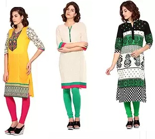 dab821fef03e Amazon Womens Clothing Offer : Buy Womens Kurta Just At Rs 199 Only