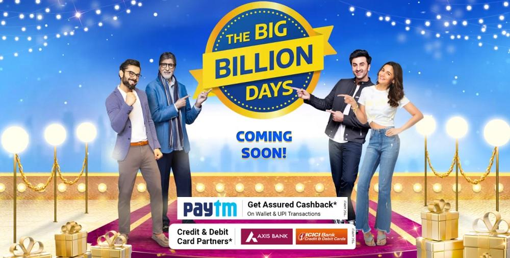 Flipkart Big Billion Days Sale 2021 Offers & Dates: 90% Off Mobile Deals+  Axis/ICICI Card Discount