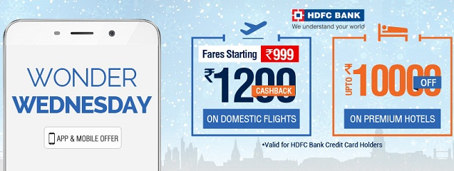 Goibibo flight coupons hdfc