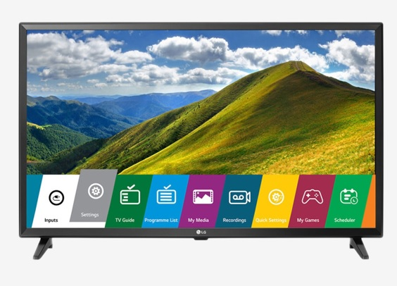 buy lg 32lj542d 80 cm 32 inches hd ready led tv at rs 16480 from tat cliq extra off via hdfc. Black Bedroom Furniture Sets. Home Design Ideas