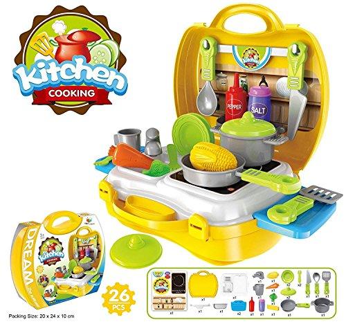 Kitchen Set Toys Online India: Buy Lalli Sales Ultimate Kid Chef's Bring Along Kitchen