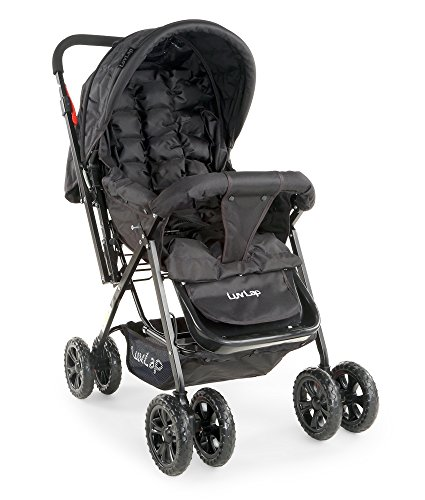 Buy Luvlap Blossom Baby Stroller (Black) at Rs. 2219 from ...