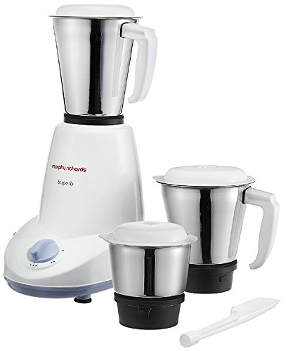 Morphy Richards 750 Watts Mixer: Buy Morphy Richards Superb 500-Watt Mixer Grinder (White) At Rs. 1932 From Amazon [Regular Price