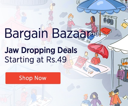 Paytm Bargain Bazaar: Deals You Cant Miss Starting At Rs 13