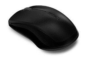 70bdcdc5395 Buy Rapoo 1620 Wireless Optical Mouse (Black) at Rs. 399 from Amazon [MRP  Rs 869]