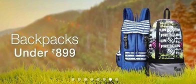 edde6a47328 India Desire   Amazon Backpacks Offer  Get Upto 80% Off On Skybags Backpack  From