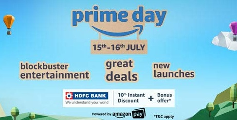 b532d8b733 India Desire : Amazon Prime Day India Sale On 15th-16th July 2019: Exclusive