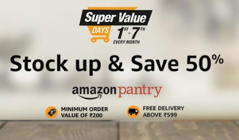 Amazon Super Value Day On 1st 7th Feb 2020 Upto 50 Off Rs 500