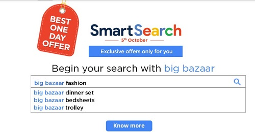 India Desire   Bigbazaar Smart Search Offer   Get Rs 200 Discount Coupon  For Shopping At c595ce5cb2a32