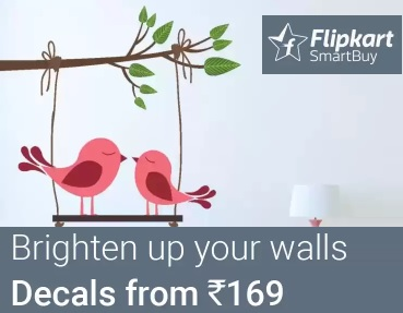 184f85590 India Desire   Flipkart Wall Stickers Offer   Get Upto 91% Off On Wall  Decals