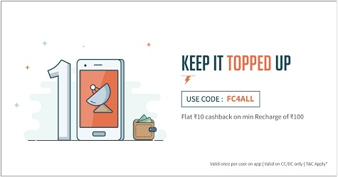 Freecharge dth coupons feb 2019
