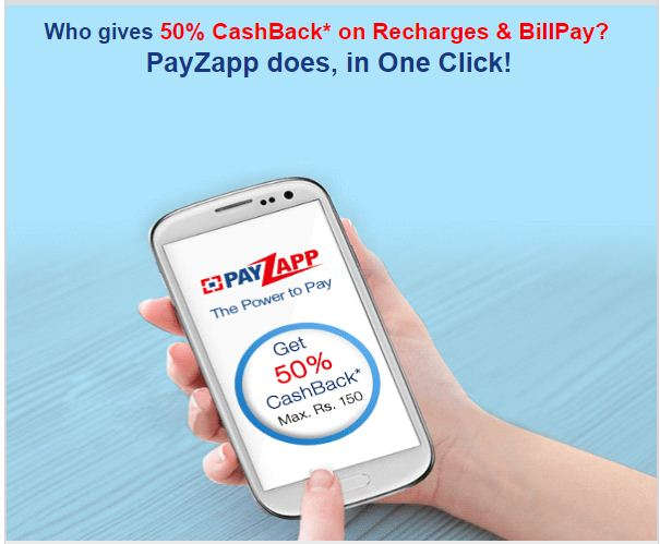 Payzapp Offers Sep 2019 : [Refer & Earn] Upto 100% Cashback