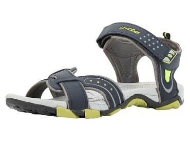 b576ff47086604 Flipkart Steal Deal  Buy Lotto Men Grey Red Sports Sandals At Rs 569   Regular Price Rs 1099