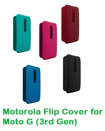 pretty nice 751c7 eab32 Buy Motorola Flip Cover for Moto G (3rd Gen) Original At Rs. 1799 ...