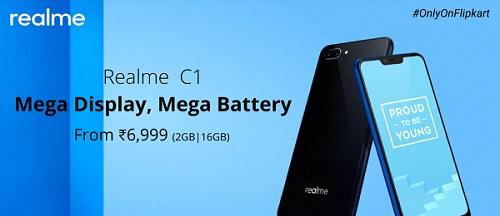 Realme C1 Flipkart Price Rs 6999 Buy In Open Sale Specifications