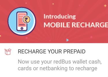 Amazon Pay Redbus Recharge Offer :Recharge & Get Rs 50 Cashback As