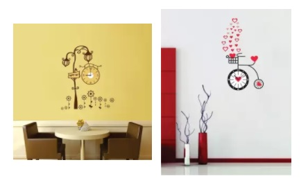 f14d6409d India Desire   Flipkart Wall Clocks Offer   Get Upto 86% Off On Analog Wall