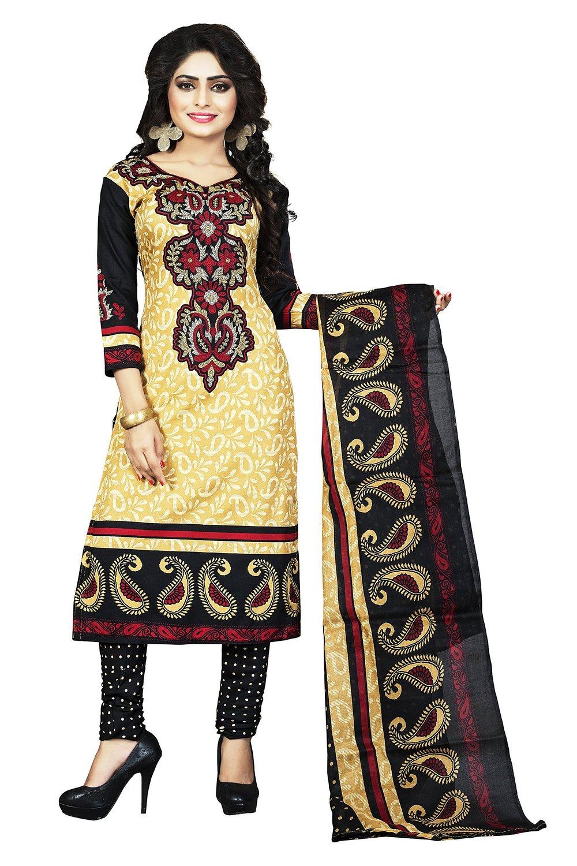 4bb7ed2da6 Buy DivyaEmporio Cotton Salwar Suit Dupatta Worth Rs. 1399 At Rs.399 Only  On Amazon