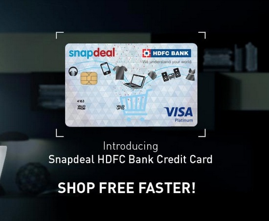 f44806d5fdf India Desire   Snapdeal HDFC Cards Offer  Get 10% Instant Discount On  Snapdeal Via