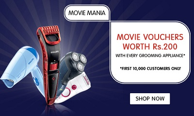 3e5da9753ba Snapdeal Movie Mania  Free Movie Voucher Worth Rs 200 On Purchase Of  Selected Products