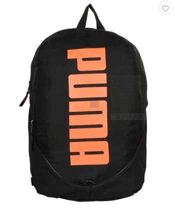 f1863c151d1 Buy Puma Pioneer Black and Orange Unisex Backpack At Rs 679 From Snapdeal