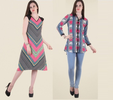 bc1f5c6ea09 Tata Cliq- Get Upto 70% Off On HotBerries Ladies Tops   Dress From ...