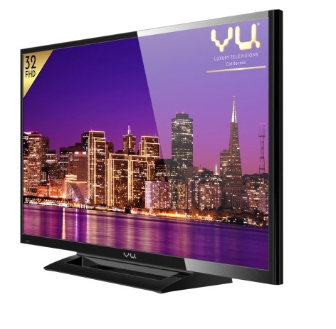 buy vu 32d6545 80 cm 32 led tv full hd at rs 17490 from flipkart. Black Bedroom Furniture Sets. Home Design Ideas