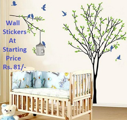 buy wall stickers at starting price rs. 81 from shopclues [free