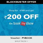 India Desire : Printvenue Bookmyshow Offer : Shop For Rs. 749 On Printvenue & Get Free Rs. 200 Bookmyshow Voucher-PVBOOK