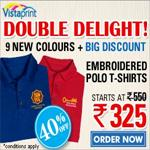 India Desire : Upto 40% off on Polo Shirts at Rs. 325/-