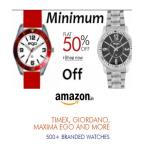 India Desire : Amazon Watches Offer : Buy Pack of 2 Mens Wirst Watches From Rs 185 Only