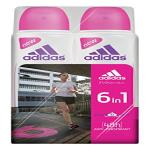 India Desire : Buy Adidas 6 in 1 Cool and Care Deodorant Body Spray for Women, (Pack of 2), 150ml at Rs. 283 from Amazon
