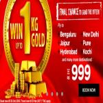 India Desire : AirAsia Diwali Sale : Upto 50% Off on Flight Fare Starts From 999 In Festival Offers + Win Up To 1kg Of Gold