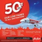 India Desire : Air Asia Big Sale Offer : Book your Flights at Flat 50% off From Air Asia 50% Offer