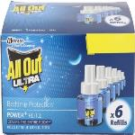 India Desire : Buy All Out Ultra Mosquito Vaporiser Refill (Pack Of 6) at Rs. 312 from Flipkart